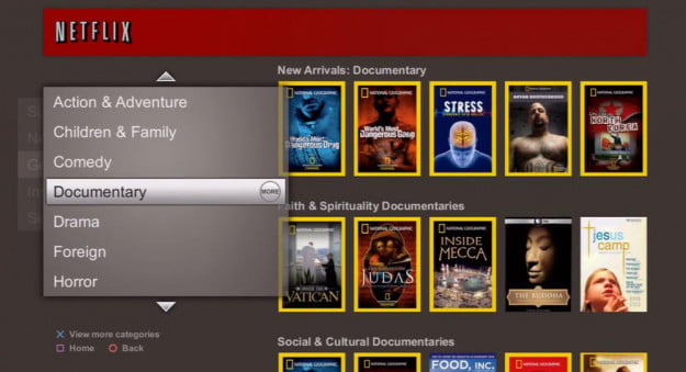 how to add netflix on playstation 3