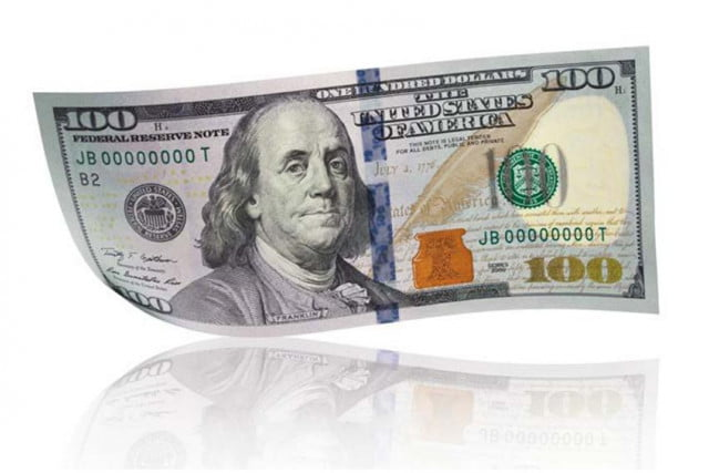 100 dollar bill printable actual size galleryhip com the hippest