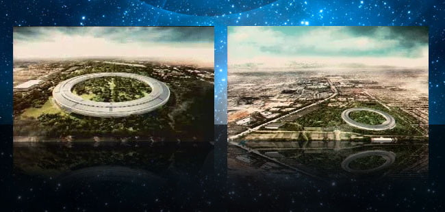apple wants to build giant spaceship campus in cupertino