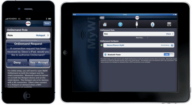 how to connect new ipad mobi pos