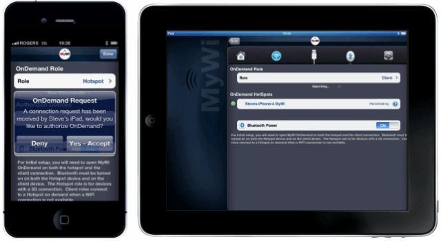 new cydia tweak mywi ondemand app brings the smartest ipad to iphone hotspot