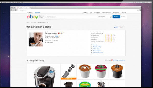 New eBay shopper profile
