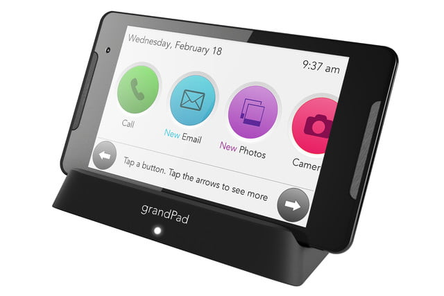 grandpad android tablet seniors refresh ces