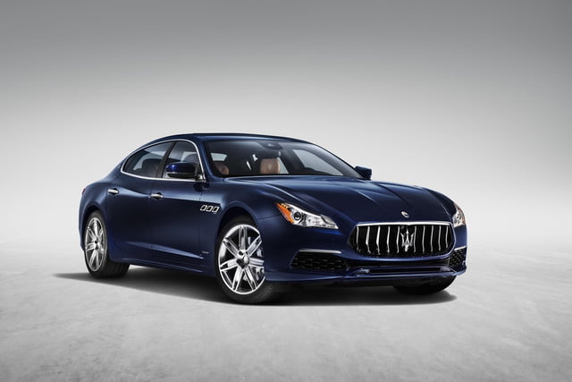 maserati electric vehicle  quattroporte granlusso