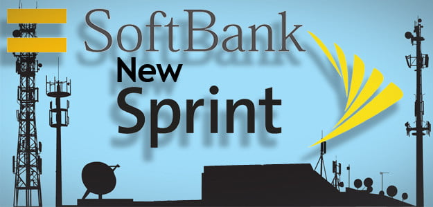 new sprint softbank wireless carrier