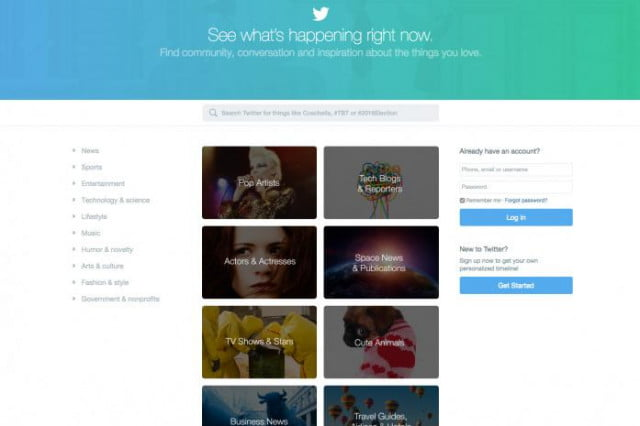 twitters redesigned homepage aims to snag new users twitter