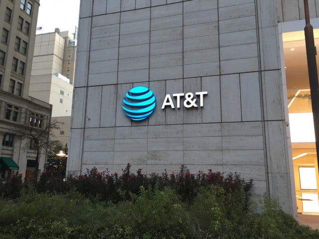 att q  financial news new at t logo in dallas tx