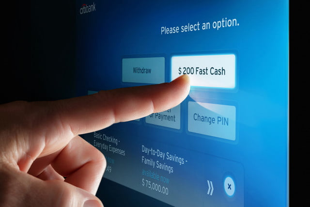 citibank atm eyes cell phone new atms