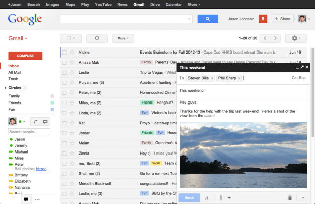 Gmail Example