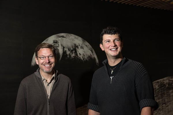 Caltech professor Mike Brown and assistant professor Konstanin Batygin