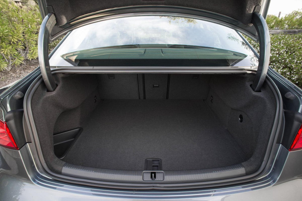 if you live in munich and own an audi youll be able to get amazon deliveries your trunk news  a sedan interior detail