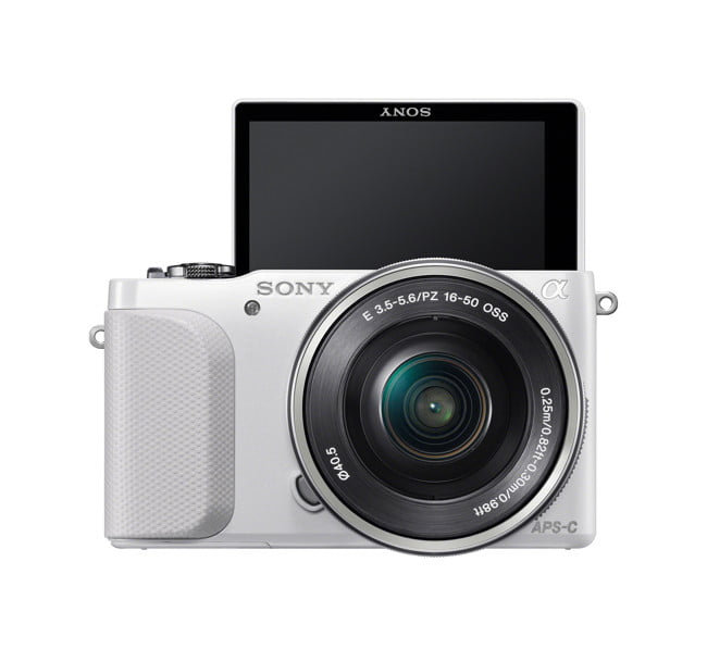 sony unveils entry level nex  n front wselp self wh