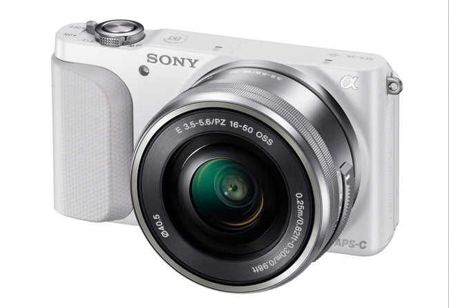 sony unveils entry level nex  n wselp wh