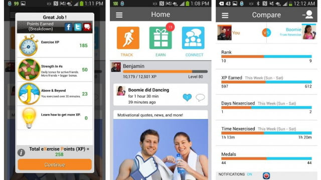Nexercise-Android-apps-screenshot
