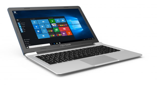 e fun launches its first budget windows  laptops nextbook laptop