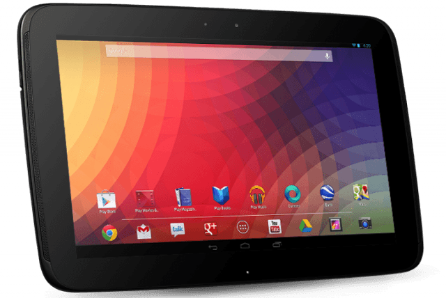 Nexus 10 Side