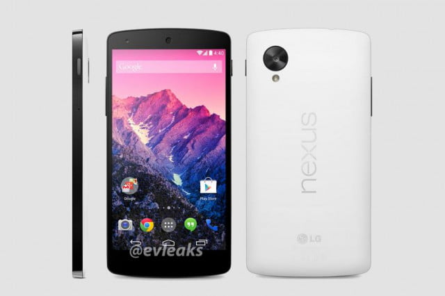 nexus  image of white version appears november launch likely leak