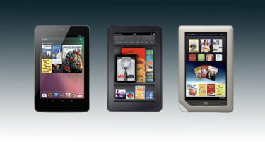 Nexus 7 vs Kindle Fire vs Nook Tablet