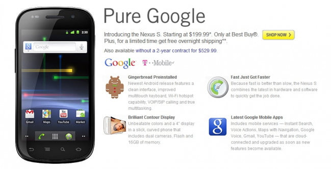 Nexus S best buy