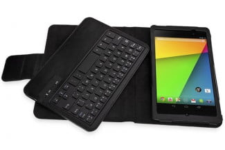 MiniSuit Keyboard Stand Case for Google Nexus 7