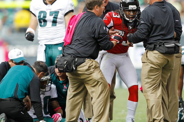 microsoft nfl track the health of players during a game injurys