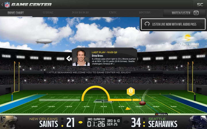 the nfl unveils new apps for mobile domination but why stop there app verizon game center watch listen