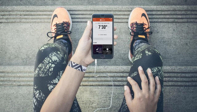 spotify nike partnership pace stations running app