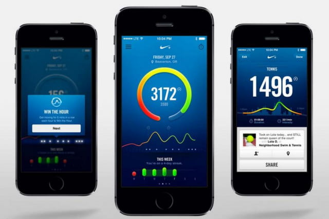 nike move app iphone  s released fuelband