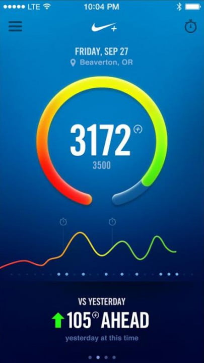 nike fuelband se review vs
