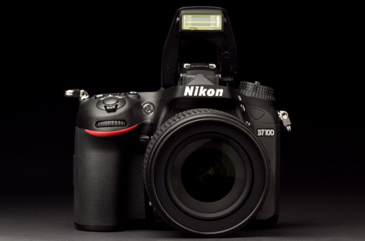 nikon d  review front flash