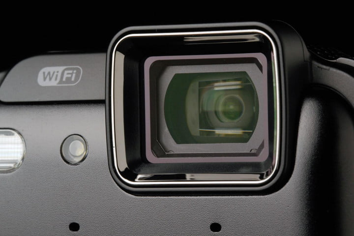 nikon coolpix aw  review viewfinder
