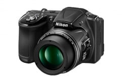 nikon coolpix l  review black