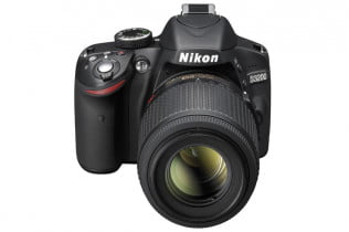 Nikon D3200 review front top lens zoom nikkor