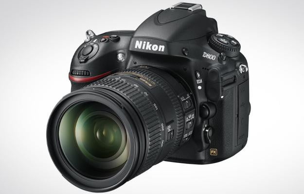 Nikon D800 DSLR Review front left angle pro digital camera