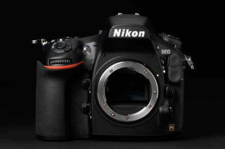 Nikon D810 review front mount