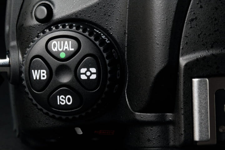 nikon d  review mode dial