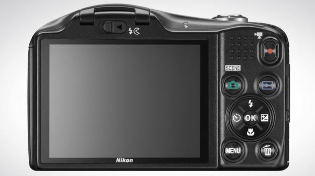 nikon l610 back lcd digital camera point and shoot