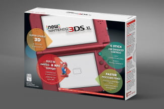 Nintendo DS XL packaging