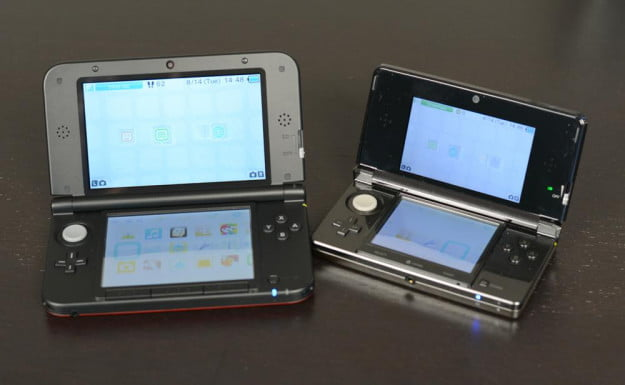Nintendo 3DS XL vs original 3ds handheld gaming system