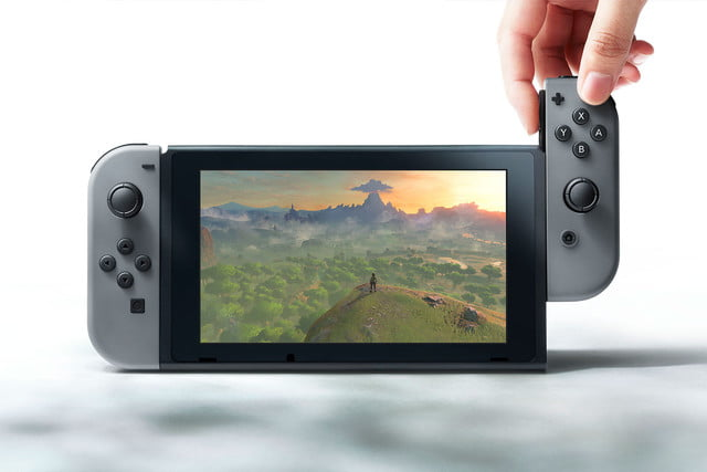 could nintendo switch have  p display