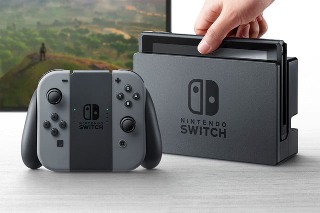 report nintendo switch features a multi touch display  x