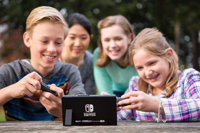 where to try nintendo switch press shot