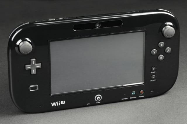nintendo wii u review gamepad front angle  x