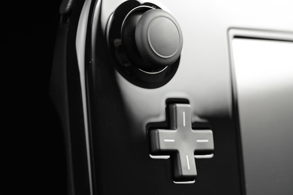nintendo wii u review gamepad front joystick