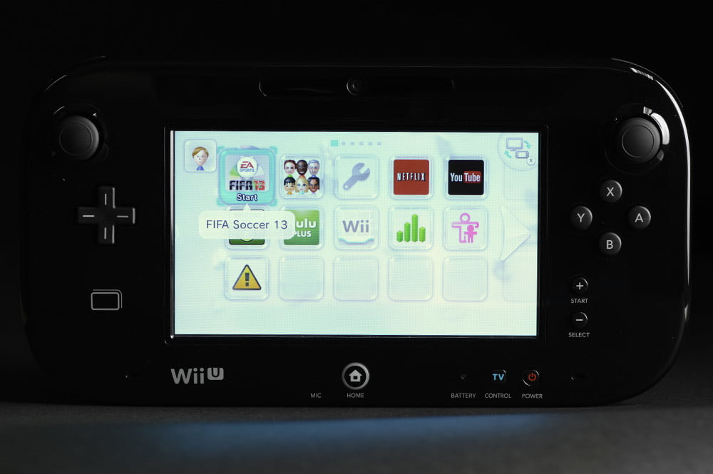 nintendo wii u review gamepad menu