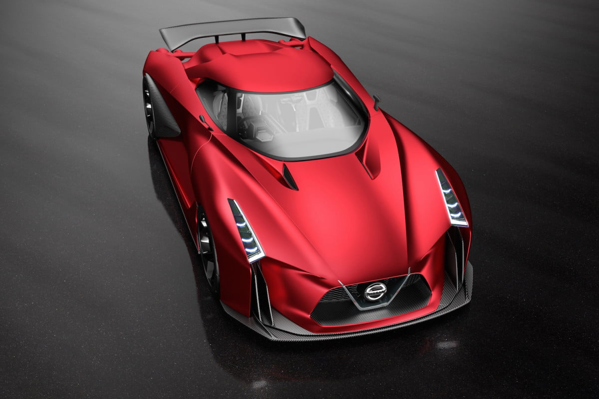 nissans next generation gt r may put ice  later nissan concept vision