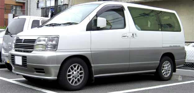 nissan homy superlong minivan bad name