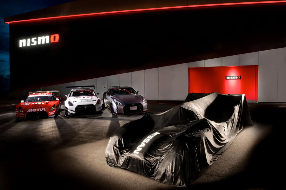 nissan aims  le mans overall win gt r lm nismo teaser
