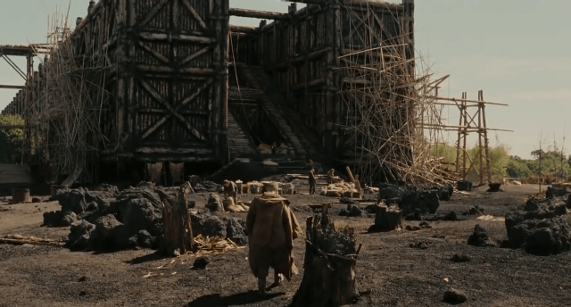noah super bowl trailer probably isnt bible accurate