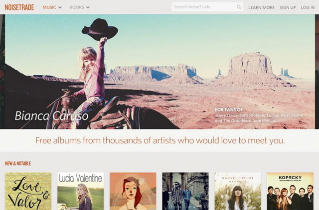 NoiseTrade Website 2